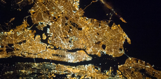 NYC from space Reforming Energy Vision