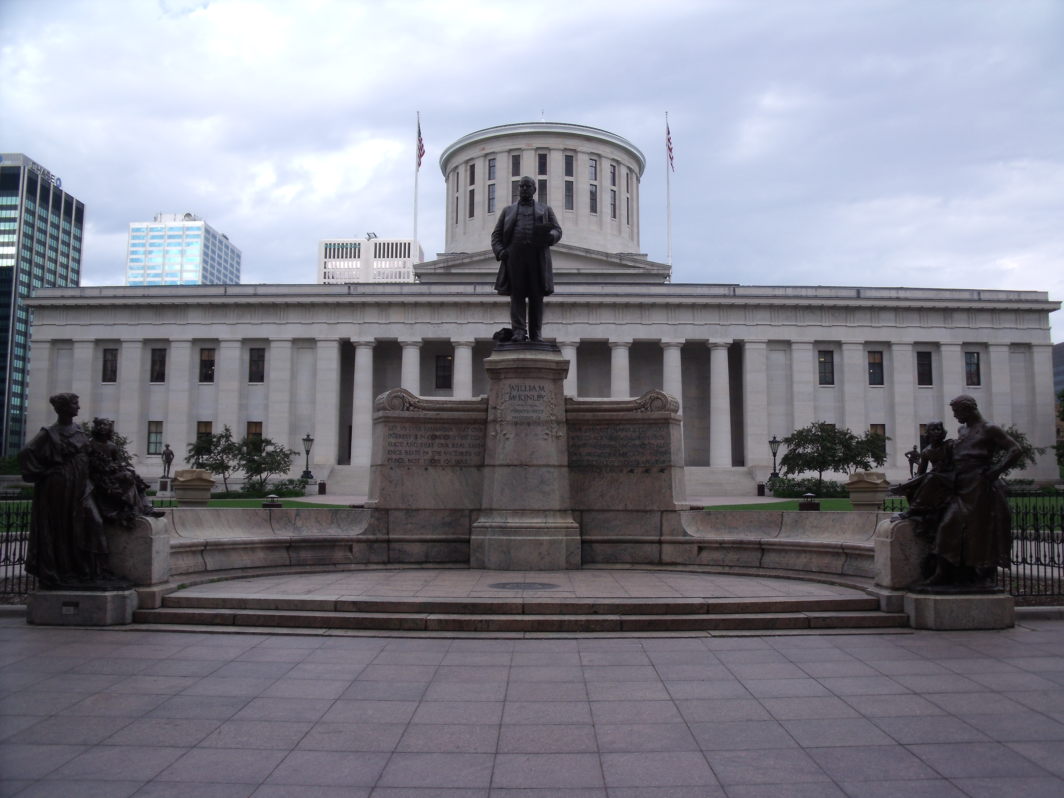 McKinley_Memorial_Ohio_Statehouse