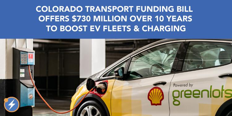 CO transportation bill EV boost