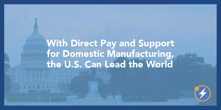 Direct Pay, Mfg US Leads World