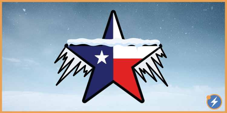 Texas frozen
