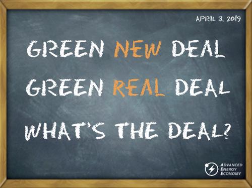 Green ___ Deal-500